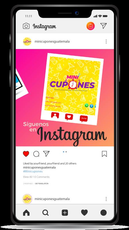 social-media---Mini-Cupones
